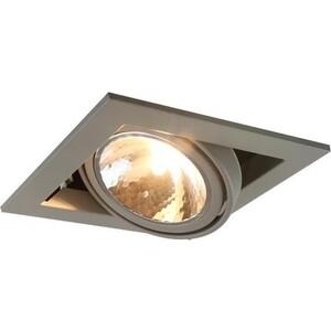 Встраиваемый светильник Artelamp A5949PL-1GY встраиваемый светильник artelamp a5949pl 2wh