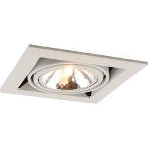 Встраиваемый светильник Artelamp A5949PL-1WH встраиваемый светильник artelamp a5949pl 2wh