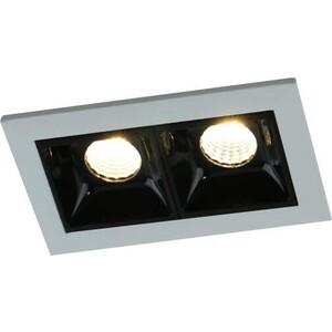 Встраиваемый светодиодный светильник Artelamp A3153PL-2BK встраиваемый холодильник electrolux enn 3153 aow