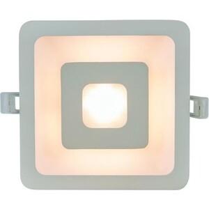 Встраиваемый светодиодный светильник Artelamp A7245PL-2WH встраиваемый светильник artelamp a9214pl 2wh