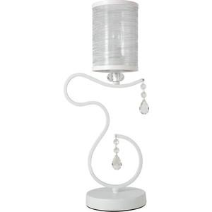 Настольная лампа Crystal Lux Elisa White LG1 lg mb65w95gih white свч печь с грилем