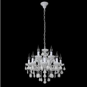 Подвесная люстра Crystal Lux Ines SP8+4 White цена