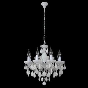 Подвесная люстра Crystal Lux Ines SP8 White цена
