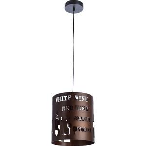 Подвесной светильник Artelamp A1223SP-1BR светильник настольный artelamp woods a1010lt 1br