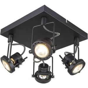Спот Artelamp A4300PL-4BK бра artelamp interior a7107ap 1ab