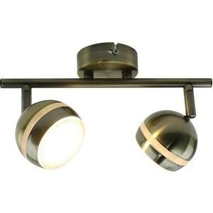 Светодиодный спот Artelamp A6009PL-2AB светодиодный спот arte lamp venerd a6009pl 2ab