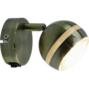 Светодиодный спот Artelamp A6009AP-1AB бра artelamp a7107ap 1ab