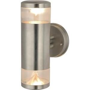Уличный настенный светильник Artelamp A8161AL-2SS уличный настенный светильник arte lamp intrigo a8161al 2ss