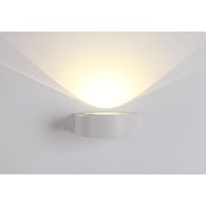 Уличный настенный светодиодный светильник Crystal Lux CLT 025W WH crystal lux бра crystal lux clt 511w425 gr