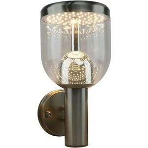 Уличный настенный светодиодный светильник Artelamp A8163AL-1SS потолочный светильник artelamp a1403sp 1ss