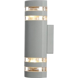 Уличный настенный светильник Artelamp A8162AL-2GY светильник уличный потолочный artelamp a8154pf 2gy 2хe27х60