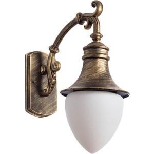 Уличный настенный светильник Artelamp A1317AL-1BN silver wings серьги sw 220065207113