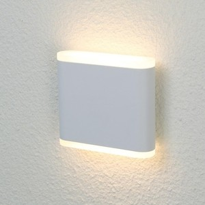 Уличный настенный светодиодный светильник Crystal Lux CLT 024W113 WH crystal lux бра crystal lux clt 511w425 gr