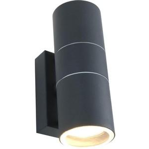 Уличный настенный светильник Artelamp A3302AL-2GY светильник уличный потолочный artelamp a8154pf 2gy 2хe27х60