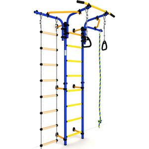 Детский спортивный комплекс Romana S5 (ДСКМ-2С-8.06.Т1.410.01-14) сине/жёлтый romana мф 1 2 04 02