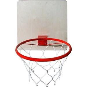 Кольцо КМС баскетбольное с сеткой d-380 мм игрушка zume games баскетбольное кольцо мини 52 003 00 0