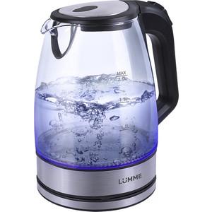 Чайник электрический Lumme LU-139 черный жемчуг фен lumme lu 1042 черный жемчуг