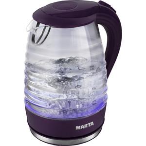 Чайник электрический Marta MT-1084 темный топаз marta mt 1633