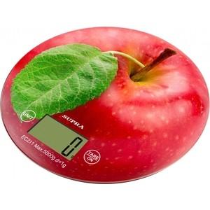 Кухонные весы Supra BSS-4300 apple купить