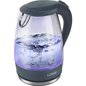 Чайник электрический Lumme LU-216 серый жемчуг цена