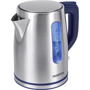 Чайник электрический Marta MT-1093 синий сапфир marta mt 1980 красный