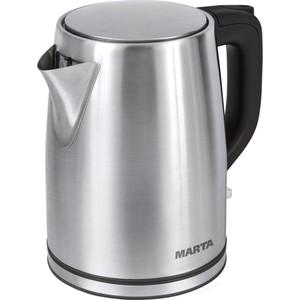 Чайник электрический Marta MT-1092 черный жемчуг чайник электрический marta mt 1092 красный гранат
