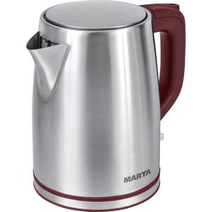 Чайник электрический Marta MT-1092 красный гранат чайник электрический marta mt 1092 красный гранат