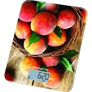 Кухонные весы Polaris PKS 1043DG Peaches покрывало на диван les gobelins mexique 160 х 200 см