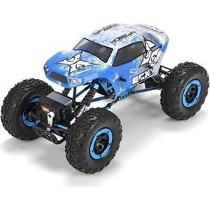 Радиоуправляемый краулер ECX Temper Rock Crawler 4WD RTR масштаб 1:14 2.4G - ECX01003 rc 1 10 off road car beach rock crawler tires tyre wheel rim crawlr tire set 96mm 1 9 4pcs