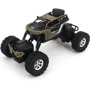 Радиоуправляемый краулер Crazon Crawler Khaki 4WD RTR масштаб 1:16 2.4G - 171601B 1 10 rc crawler 1 9 rubber tires