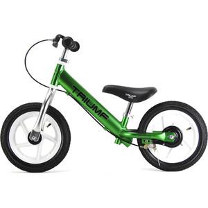 Беговел Triumf Active AL-1201 TW зеленый во4389-2 коляска прогул alf i smile line al 03 зеленый св серый