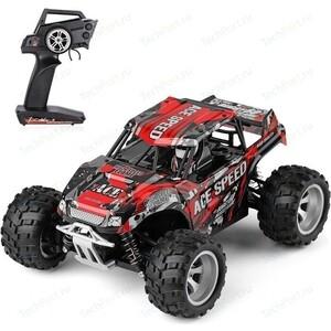 Радиоуправляемый монстр WL Toys 4WD RTR масштаб 1:18 2.4G - WLT-18404 радиоуправляемый монстр ecx ruckus 4wd rtr масштаб 1 18 2 4g