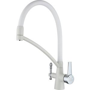 Смеситель для кухни Paulmark Holstein (Ho213165-331) белый смеситель для кухни harte однорычажный белый л 4204 331