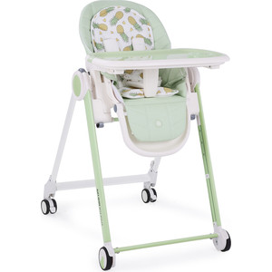 Стульчик для кормления Happy Baby BERNY (green) шезлонг happy baby nesty green