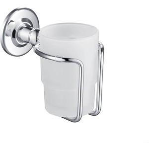 Стакан для зубных щеток Timo хром (150031/00 chrome) душевая система timo nelson для ванны хром sx 1290 00 chrome