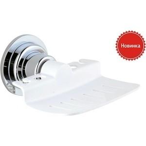Мыльница Timo хром/белый (TR-059 chrome) душевая система timo selene для ванны хром sx 1013z chrome