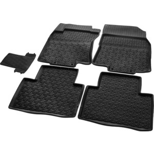 Коврики салона Rival для Nissan X-Trail (2015-н.в.), резина, 64109001 left hnad drive car styling accessories interior car cover trim decoration 18pcs for nissan x trail rogue 2014 2015 2016 2017