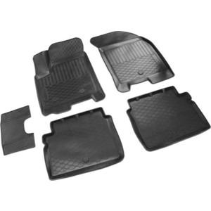 Коврики салона Rival для Chevrolet Aveo седан, хэтчбек (2004-2011) / Ravon Nexia R3 (2015-н.в.), полиуретан, 11001004 чехол на сиденье skyway chevrolet cobalt седан ch2 2