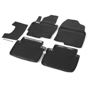 Коврики салона Rival для Mazda CX-5 (2011-2017), полиуретан, 13803001 коврик багажника rival для mazda cx 5 2011 2017 полиуретан 13803003
