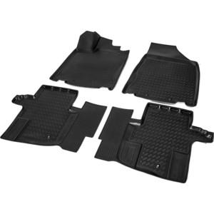 Купить Коврики салона Rival для Nissan Pathfinder (2013-н.в.), полиуретан, 14104001