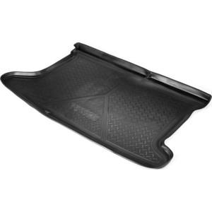 Коврик багажника Rival для Hyundai Solaris хэтчбек (2010-2017), полиуритан, 12305003 набор автомобильных экранов trokot для hyundai solaris 1 2010 наст время на заднее ветровое стекло tr0161 03