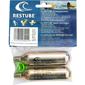 Баллоны с газом Restube Spare cartridges (2x) ft007 03 rudder remote control rc boat spare parts for feilun ft007