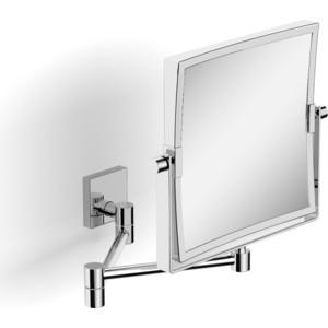 Зеркало поворотное космет. квадратное увеличительное Langberger (72485) хром зеркало поворотное косметическое langberger 71785 хром