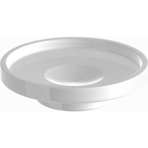 Мыльница керамика круглая Langberger (10915A-00-01) белый