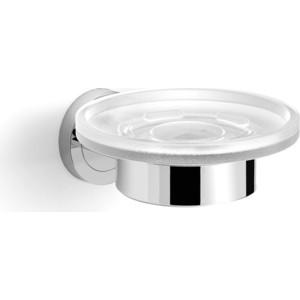 Мыльница стекло к стене круглая Langberger Burano (11015A) хром мыльница керамическая к стене schein superior 7066004 хром