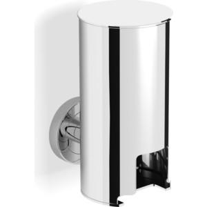 Контейнер к стене для ватных дисков Langberger Burano (11028A) хром контейнер для ватных дисков wess salle de bain g95 79
