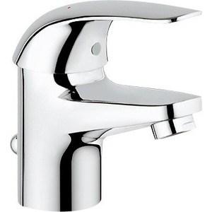Смеситель для раковины Grohe Euroeco с донным клапаном (32732000) смеситель для раковины grohe eurocube 2312700e с донным клапаном и ограничением расхода воды