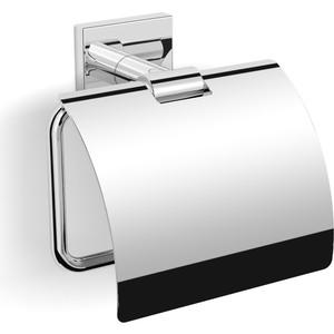 Бумагодержатель с крышкой Langberger (11841X) хром бумагодержатель с крышкой milardo amur amusmc0m43