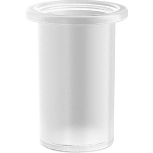 Стакан стекло круглый Langberger Lugano (23011A-00-01) хром цена