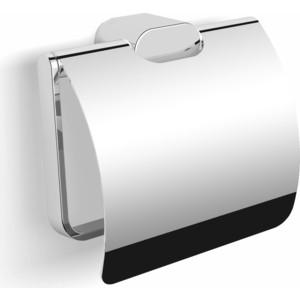 Бумагодержатель с крышкой Langberger Lugano (24041A) хром полочка стеклянная langberger lugano 24051d хром
